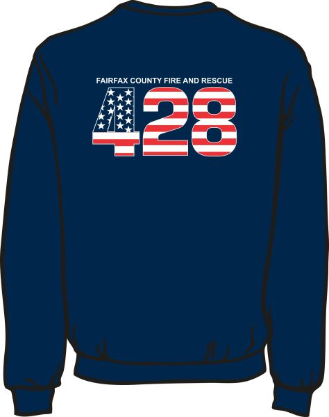 FS428 Flag Lightweight Sweatshirt