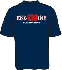 FS428 Engine T-shirt