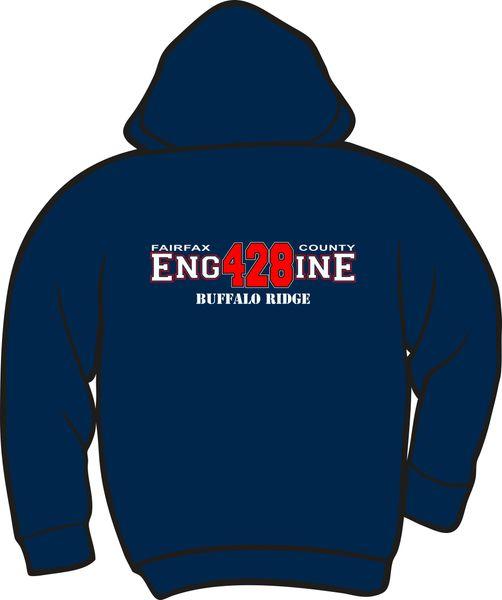FS428 Engine Lightweight Zipper Hoodie