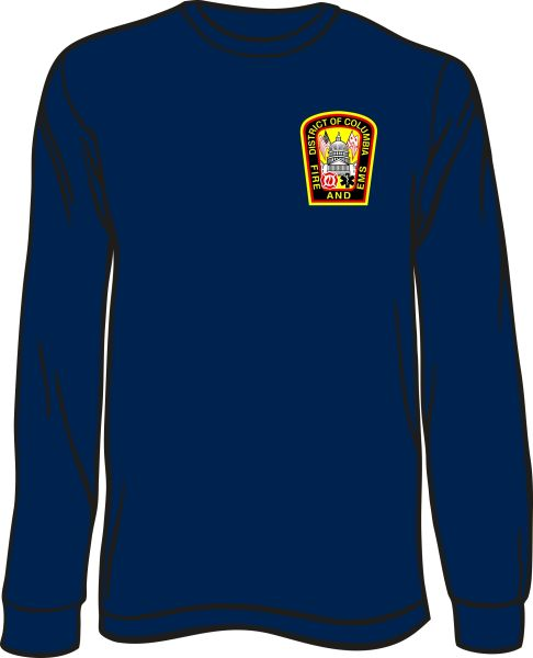 DCFD Long-Sleeve T-shirt