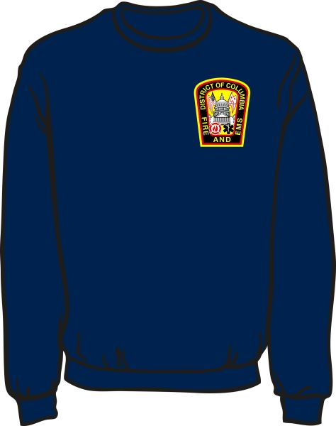 DCFD Heavyweight Sweatshirt