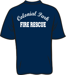 Colonial Park Fire Rescue T-Shirt