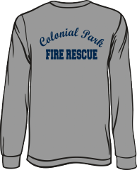 Colonial Park Fire Rescue Long-Sleeve T-Shirt