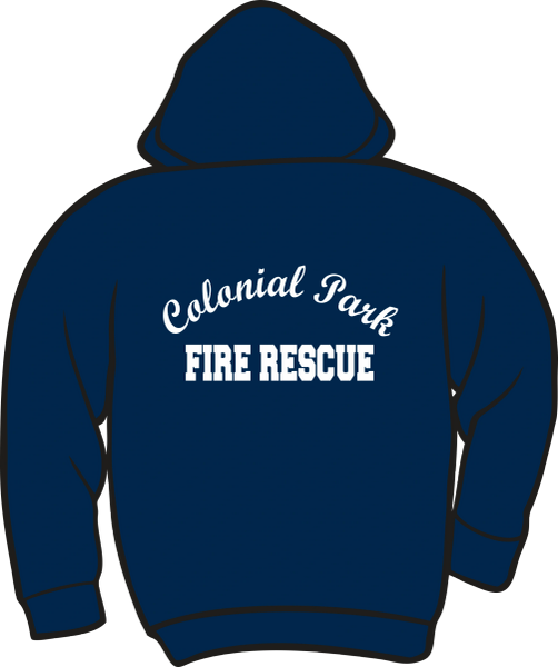 Colonial Park Fire Rescue Heavyweight Hoodie