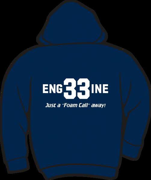 Eng33ine Lightweight Zipper Hoodie