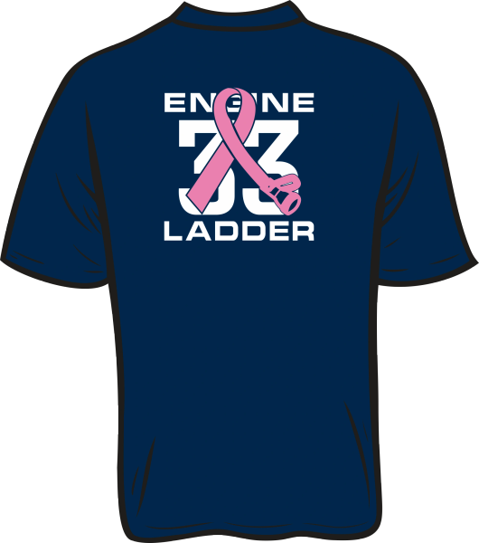 Colonial Park 33 Breast Cancer T-Shirt