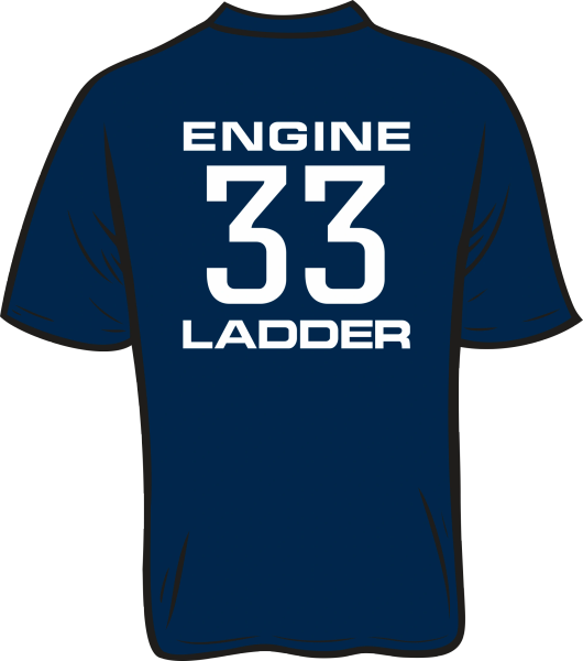 Colonial Park 33 Engine Ladder T-Shirt
