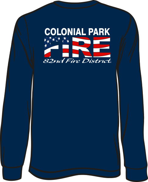 Colonial Park Flag Long-Sleeve T-Shirt