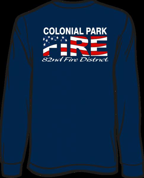 Colonial Park Flag Long-Sleeve T-Shirt