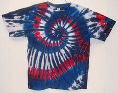 USA Swirl Tie-Dye