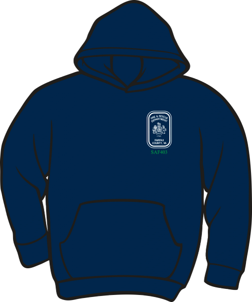 Fairfax County Safety Officer 403 Lightweight Hoodie
