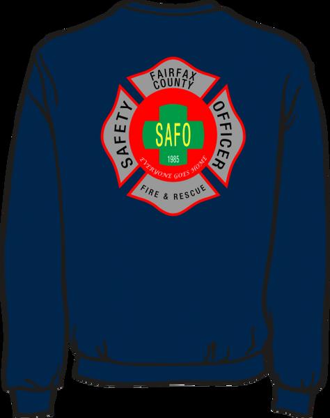 Fairfax County Safety Officer 403 Lightweight Sweatshirt