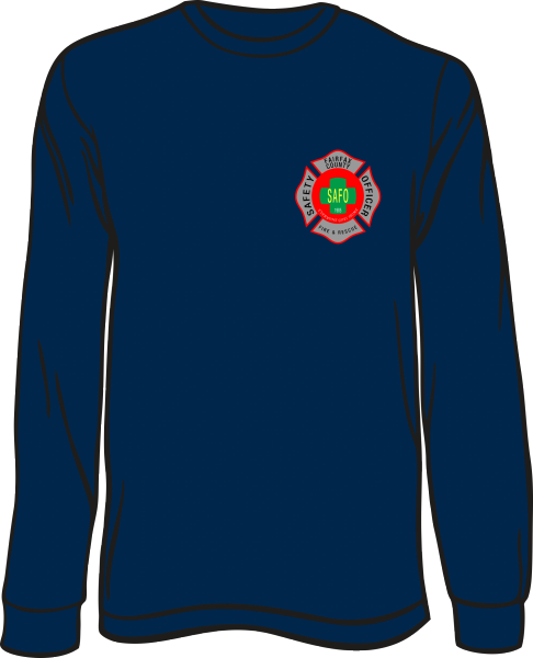 Fairfax County Fire and Rescue Safety Officer Long-Sleeve T-Shirt