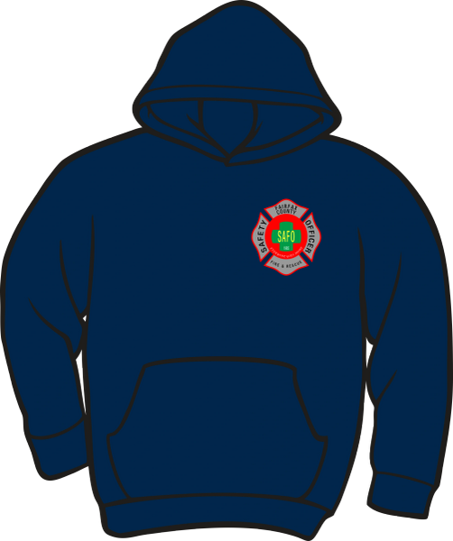 Fairfax County Fire and Rescue Safety Officer Heavyweight Hoodie