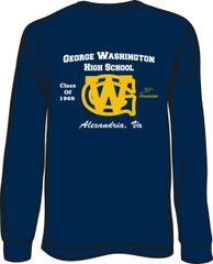 GWHS 1968 50th Reunion Long Sleeve T-Shirt