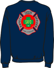 Fairfax County Safety Officer Battalion Chief Lightweight Sweatshirt