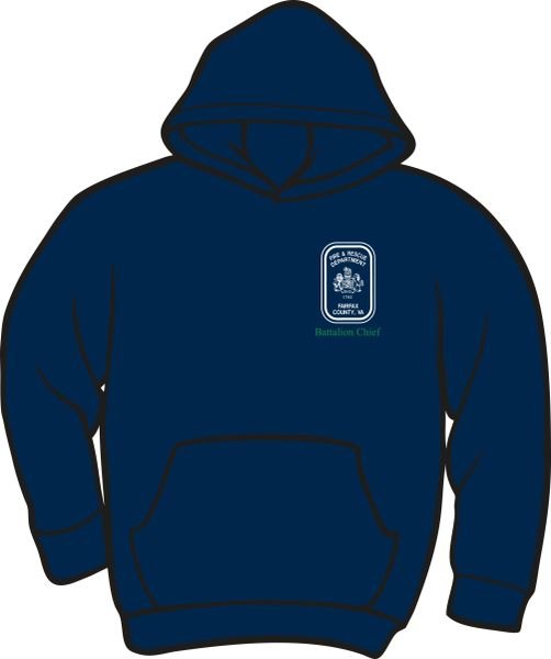 Fairfax County Safety Officer Battalion Chief Lightweight Hoodie