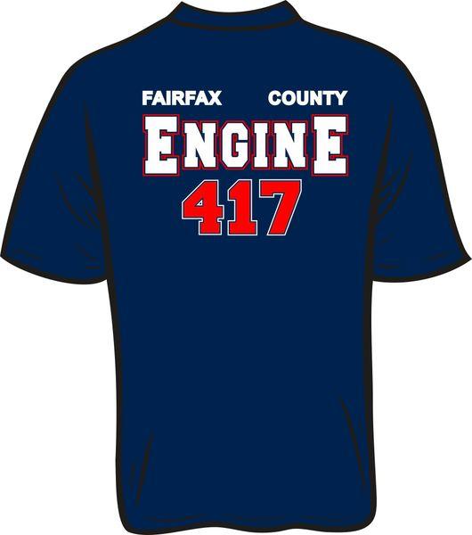 FS417 Engine T-Shirt