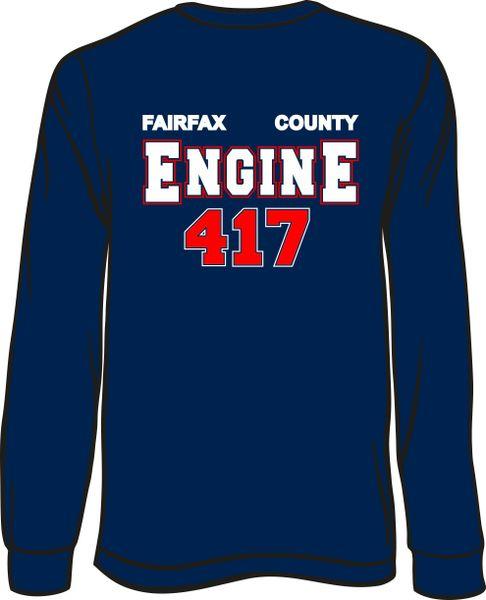 FS417 Engine Long-Sleeve T-shirt