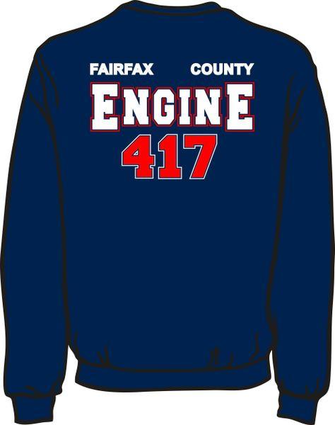 FS417 Engine Heavyweight Sweatshirt