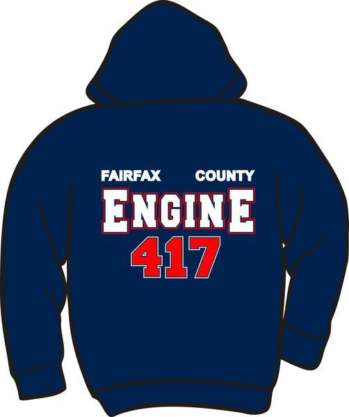 FS417 Engine Heavyweight Zipper Hoodie