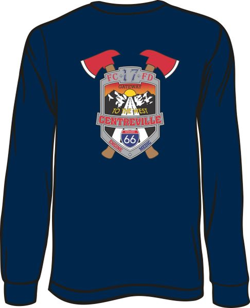 FS417 Patch Long-Sleeve T-shirt