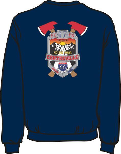 FS417 Patch Heavyweight Sweatshirt