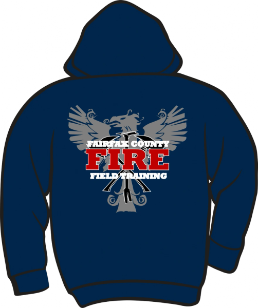 FTO Fire & Rescue Lightweight Zipper Hoodie