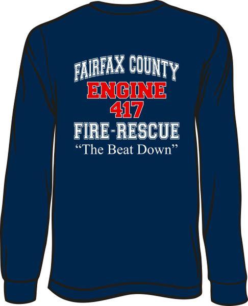FS417 F&R Engine Long-Sleeve T-shirt