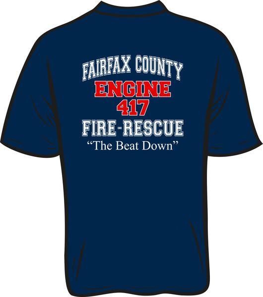 FS417 F&R Engine T-Shirt