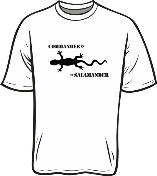Commander Salamander T-Shirt