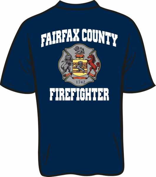 Fairfax County Firefighter T-Shirt