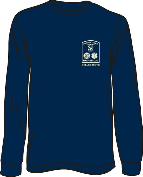 Loudoun County Dulles South Long Sleeve T-Shirt