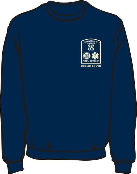 Loudoun County Dulles South Lightweight Sweatshirt
