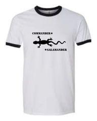 Commander Salamander Ringer T-Shirt