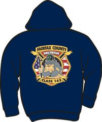 143 Patch Heavyweight Hoodie