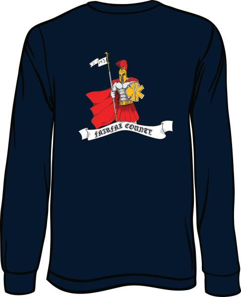 143 Knight Long-Sleeve T-shirt