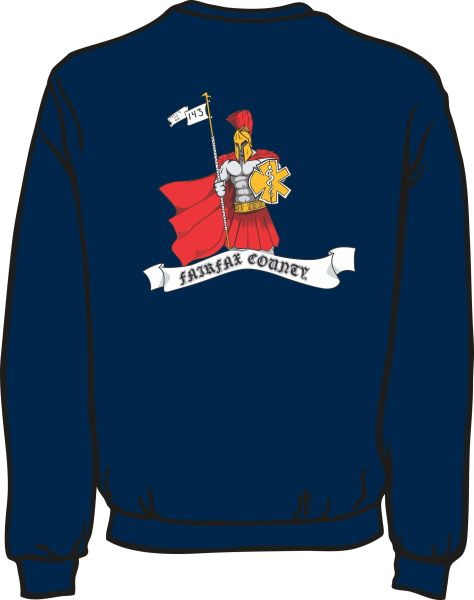 143 Knight Heavyweight Sweatshirt