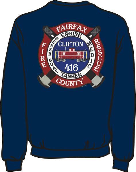 416 Patch Lightweight Sweatshirt