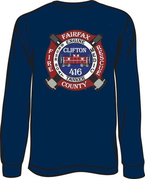 416 Patch Long-Sleeve T-shirt