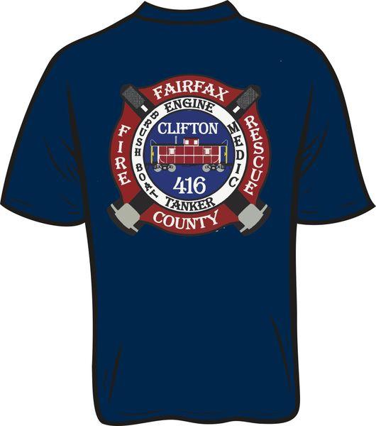 416 Patch T-shirt