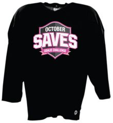 October Saves Senior Hockey Jersey