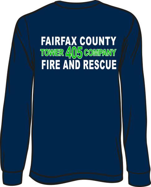 FS405 Tower Long-Sleeve T-shirt