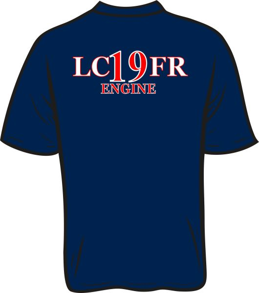 LC19 Engine T-Shirt