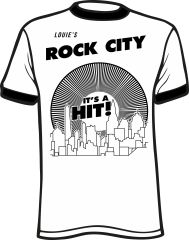 Louie's Rock City Ringer T-Shirt