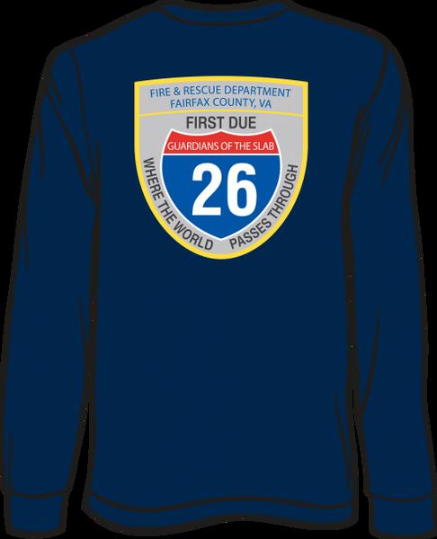 FS426 Patch Long-Sleeve T-Shirt