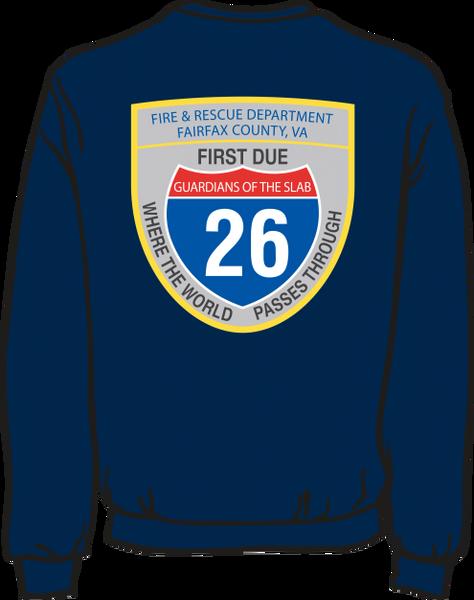 FS426 Patch Heavyweight Sweatshirt