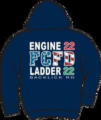 FS422 Flag Heavyweight Hoodie