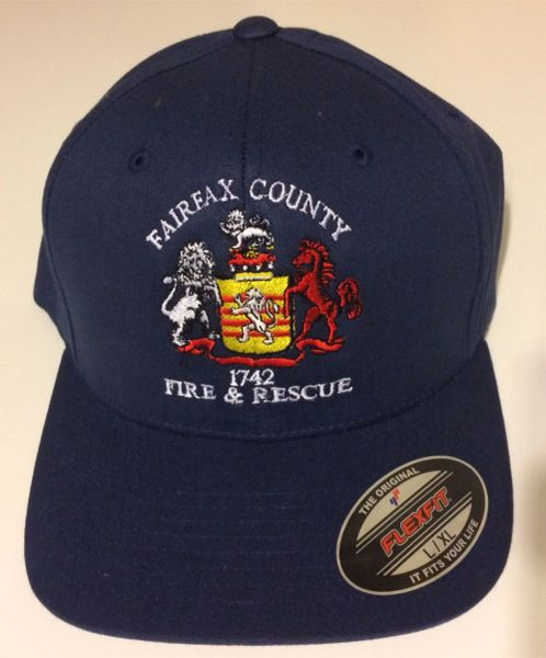 Fairfax County Fire & Rescue Hat - Moisture Wicking Flexfit
