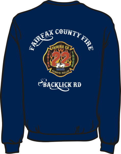 FS422 Patch Lightweight Sweatshirt